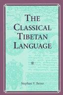 The Classical Tibetan Language
