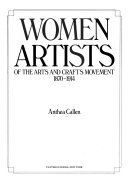 Women Artists of the Arts and Crafts Movement  1870 1914