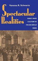 Spectacular Realities Pdf/ePub eBook
