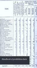 Handbook of Prohibition Facts