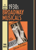 Pdf The Complete Book of 1930s Broadway Musicals Telecharger
