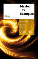 Master Tax Examples 2010/11