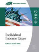 West Federal Taxation 2008: Individual Income Taxes