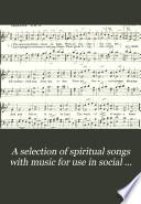 A Selection of Spiritual Songs Book