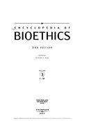 Encyclopedia of Bioethics: I-M