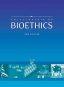 Encyclopedia of Bioethics  I M