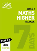 GCSE 9-1 Maths Higher In a Week