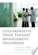 Collaborative Drug Therapy Management Handbook Book PDF