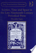 Science Time And Space In The Late Nineteenth Century Periodical Press