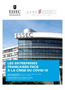 Pdf Les entreprises françaises face à la crise du Covid-19 Telecharger