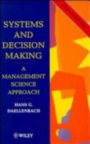 Systems and Decision Making Book