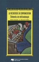 Pdf La recherche en communication Telecharger