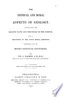 The Physical and Moral Aspects of Geology