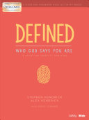 Defined Who God Says You Are Younger Kids Activity Book Book PDF
