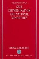 Self determination and National Minorities Book