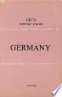 Oecd Economic Surveys Germany 1972