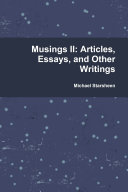 Musings II  Articles  Essays  and Other Writings