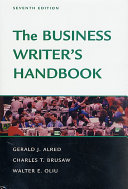 The Business Writer S Handbook Seventh Edition