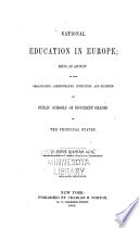 National Education in Europe