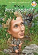 Who Is Jane Goodall? Pdf/ePub eBook