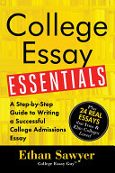 College Essay Essentials Pdf/ePub eBook