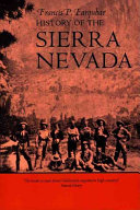 History of the Sierra Nevada