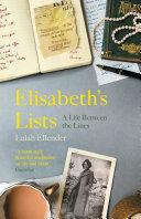Elisabeth's Lists Pdf