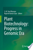 Plant Biotechnology: Progress in Genomic Era