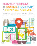 Research Methods in Tourism  Hospitality and Events Management