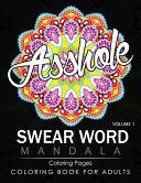 Swear Word Mandala Coloring Pages Volume 1 Book PDF
