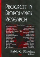 Progress In Biopolymer Research Book PDF