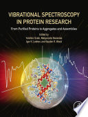 Vibrational Spectroscopy In Protein Research Book PDF