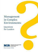 Management in Complex Environments