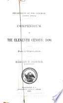 Compendium of the Eleventh Census  1890  Population  Dwellings and families  Statistics of Alaska