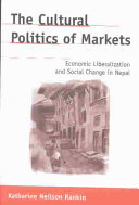 The Cultural Politics of Markets