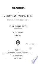 Memoirs of Jonathan Swift, D.D.