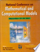 Proceedings Of The National Conference On Mathematical And Computational Models