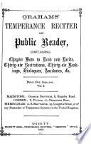 Graham S Temperance Reciter And Public Reader
