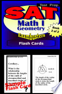 SAT Math Level I Test Prep Review  Exambusters Geometry Flash Cards  Workbook 2 of 2