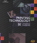 Cover of Printing Technology