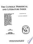 The Catholic Periodical and Literature Index