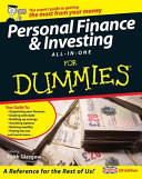 Personal Finance   Investing All in one for Dummies