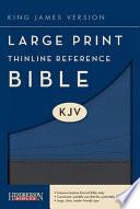 Thinline Reference Bible-KJV-Large Print