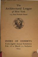 Index of Exhibits     Annual Exhibition