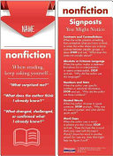 Reading Nonfiction Student Bookmarks