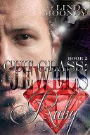 Cut Glass  Jewels   Ruby