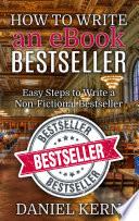 How To Write An Ebook Bestseller
