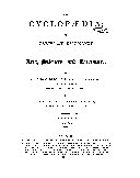 Pdf The Cyclopædia, Or, Universal Dictionary of Arts, Sciences, and Literature