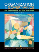 Organization Governance In Higher Education