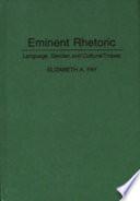 Eminent Rhetoric Pdf/ePub eBook